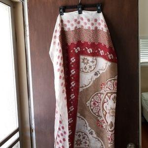 Floral scarf / wrap / sarong